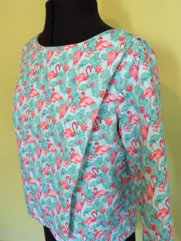"T-shirt ""flamand rose"""